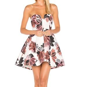 Keepsake Divide Dress in College Floral Small NWT